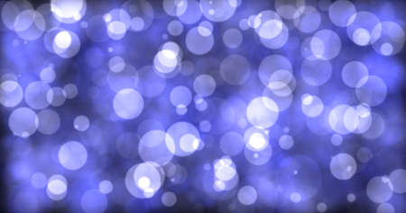 Computer generated abstract background. Blurred effect bright circles