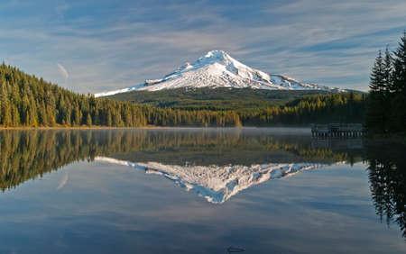 trillium lake: trillium lake mt. hood