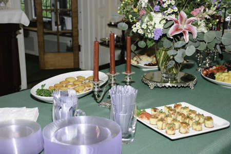 finger food ready for serving