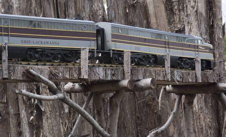 철도 모형 디스플레이