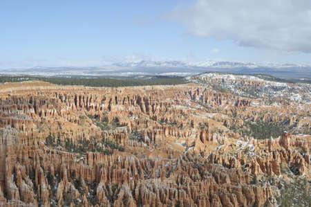 natural wonders: National Parks   natural wonders of Utah after snow storm