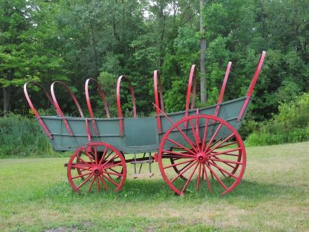 covered wagon: Conestoga covered  wagon