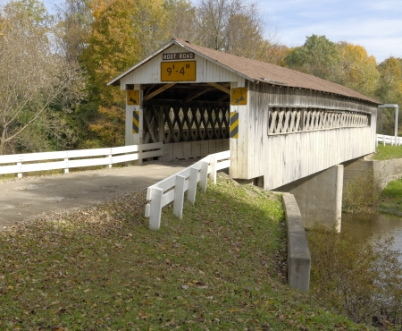Covered bridges in Northeast Ohio Counties  Early Fall season
