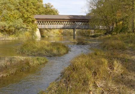 northeast ohio: Covered bridges in Northeast Ohio Counties  Early Fall season