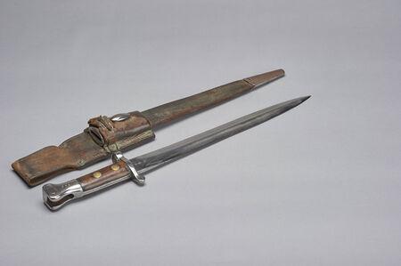 bayonet: World War I German Infantry Soldiers bayonet