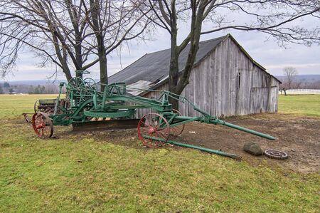 farm structure: Century Village - Burton, Ohio - farm equipment shed