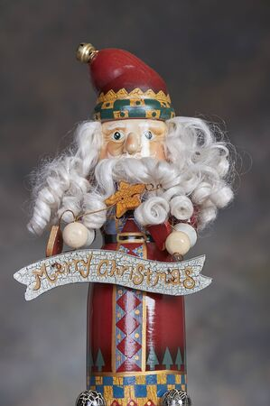 implementing: Christmas holiday season nutcracker ornamentdecoration Stock Photo