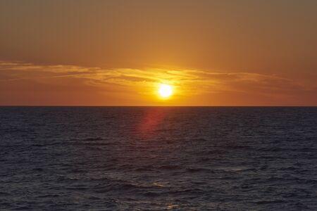 Sharkey의 부두, 세인트 샬롯, 플로리다에서 걸프 코스트에 일몰