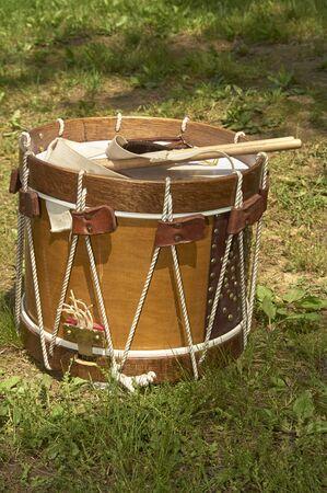 American Civil War Military Marching Drum