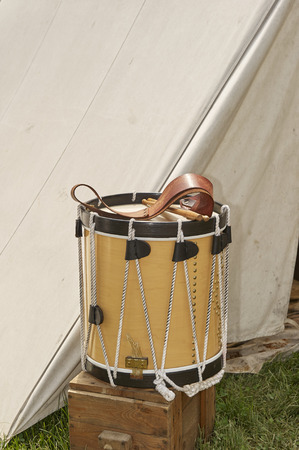 American Civil War Military Marching Drum