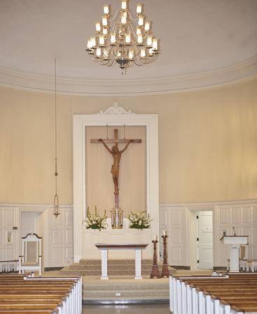 Jesus Christ on cross (catholic church)