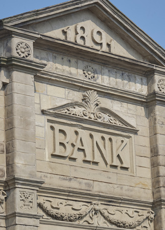 1891 Bank building front
