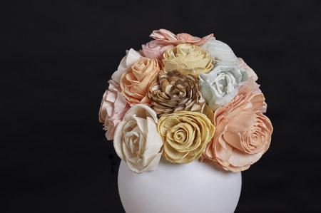 artificial flower arrangement (studio shots)