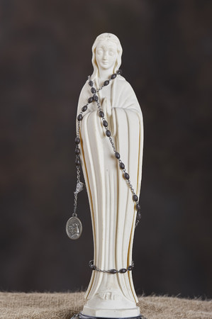 figurine of  the Virgin Mary - mother of Jesus Christ