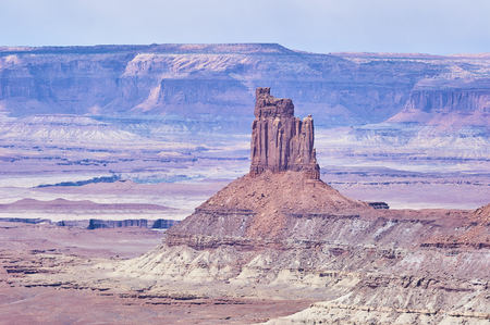Monument Valley sandstone formations in Utah USA