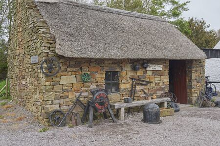 Ireland Trip (May 19-29, 2019) Kerry Bog Village on the Ring of Kerry. The Old Forge building