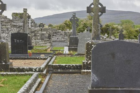 Ireland Trip (May 19-29, 2019) Corcomroe Abbey Village of Ballvaughan County of Clare, Ireland. cemetary