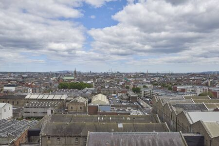 Ireland Trip (May 19-29, 2019) Dublin, Ireland.Guinness Beer Brewery. view of Dublin from brewery cafeteria