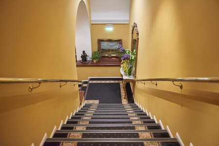 Republic of Ireland Trip (May 19-29, 2019) Imperial Hotel staircase. Cork, Ireland