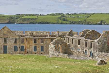 Ireland Trip (May 19-29, 2019) Charles Fort Kinsale, County Cork, Ireland Stockfoto - 130929500