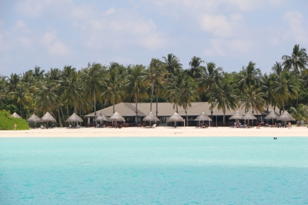 sun Island on Maldives photo