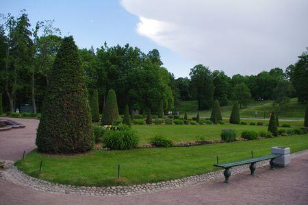 peterhof: Grand Peterhof Palace garden