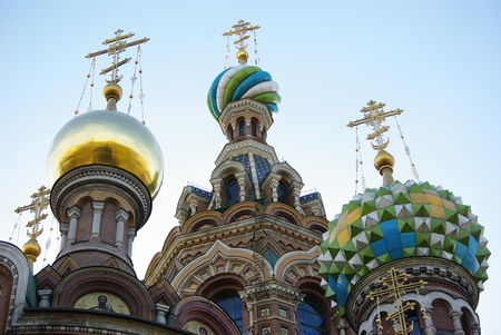 The Church of the Savior on Spilled Blood, Saint Petersburg, Russia photo