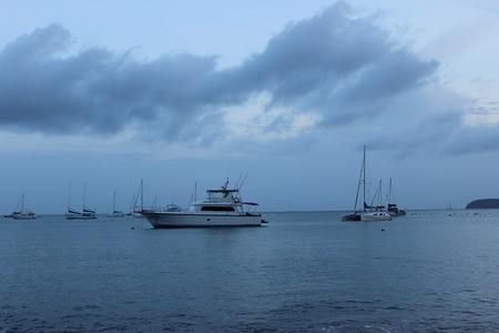 sailingboat: sailingboat on  Ao Yon Beach, Phuket Island, Thailand, sunset