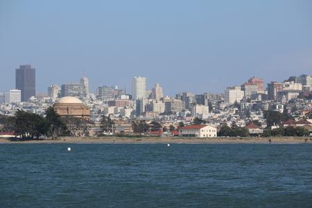 borax: downtown view, San Francisco, California, USA