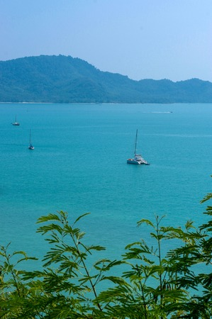 the exotic Bay of Rawai in Phuket island Thailand