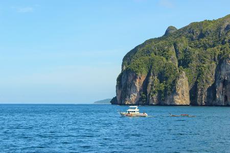 The Loh samah bay at phi phi island, krabi Thailand.