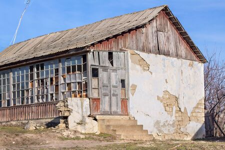 dearth: abandoned old house