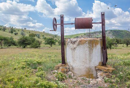 outdoor water well