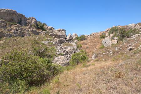 rockfall: natural rockfall