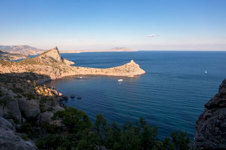 beautiful landscape in Crimea