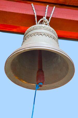 church bell: large church bell