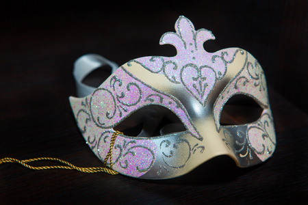 misterious: Venetian mask