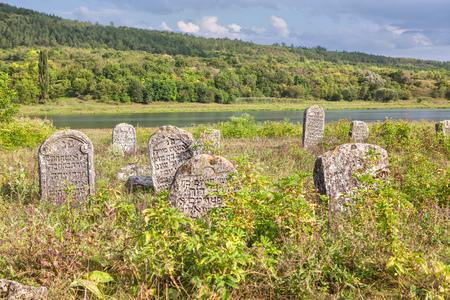 mementos: Ancient Hebrew cemetery