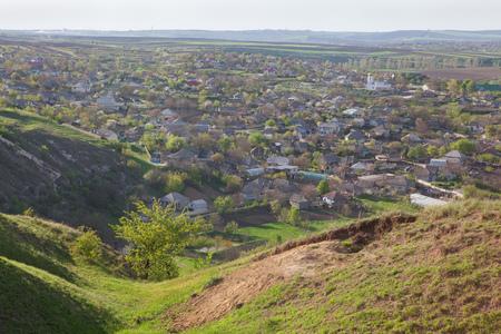 village in Moldova Stock Photo