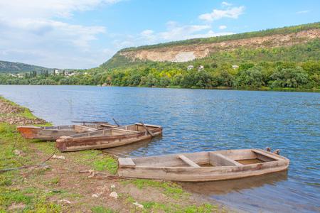rowboats: vintage wooden boats