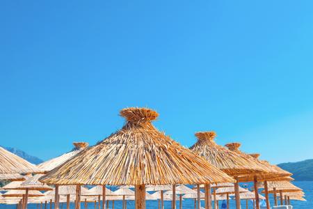 exotic beach umbrellas