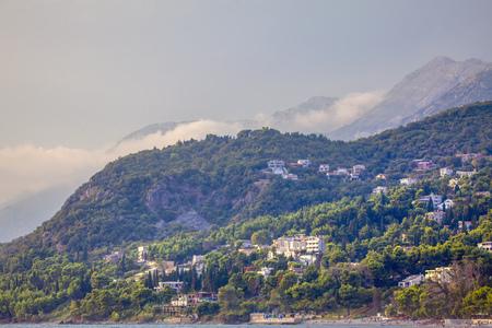 landscape with coastal mountain range