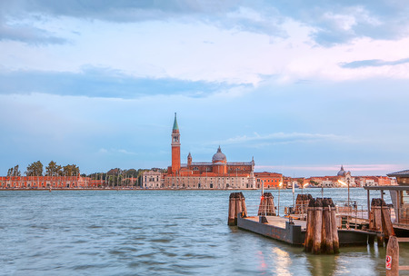 landscape with Grand Canal in Venice
