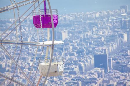 Ferris Wheel on Tibidabo in Barcelona