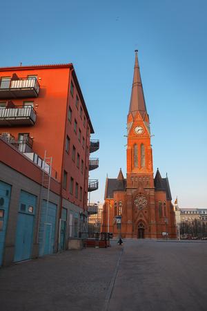 Gustaf Adolfskyrkan church in Helsingborg