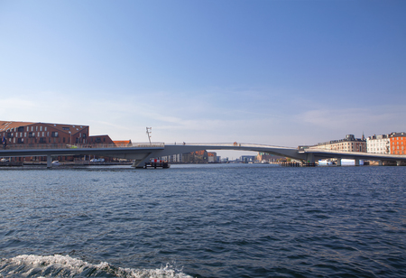 The Water Route through Copenhagen , Capital of Denmark