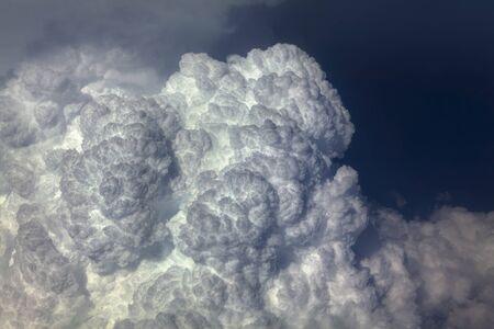close up image of beautiful clouds