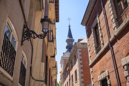 Architecture of calle de Gerona in Madrid