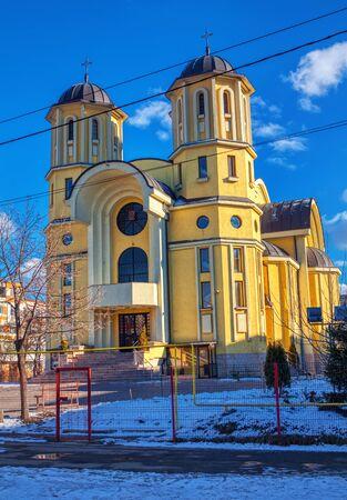 Church Adormirea Maicii Domnului in Iasi city , Romania