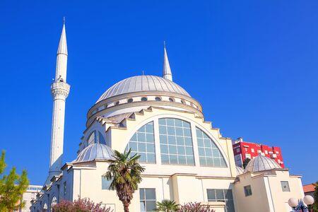 Ebu Bekr mosque in Shkoder town from Albania